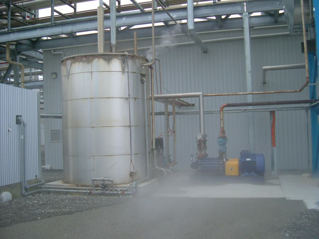 Feed Water Tanks Pacific Boiler Services